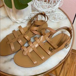 NWOT Forever 21 Tan Sandals